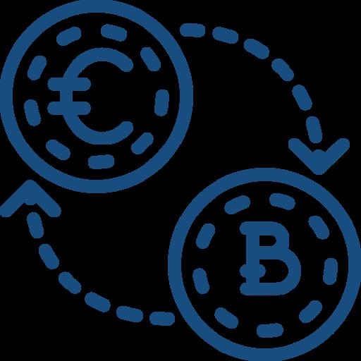 Compra y venta de bitcoin en persona con un trader