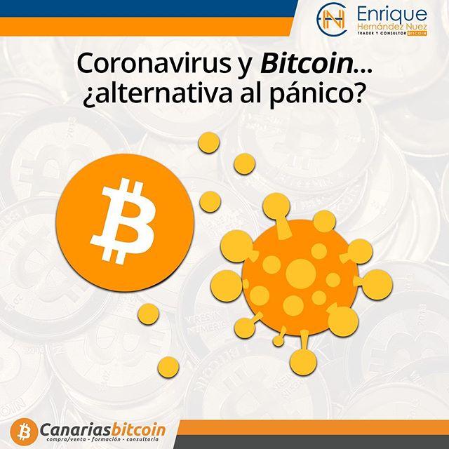 Bitcoin y Coronavirus en la crisis del covid-19