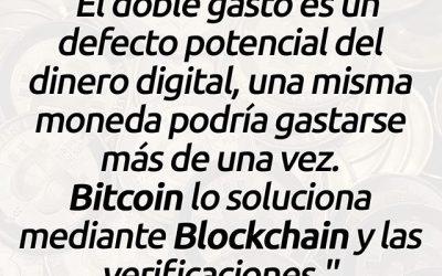 El doble gasto en Bitcoin