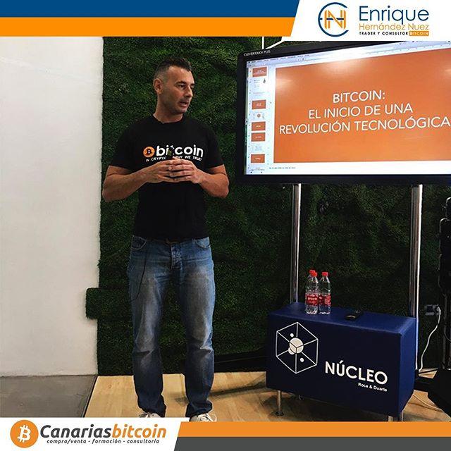 Enrique Hernández Nuez ponente en Núcleo Blockchain: «Meeting Point»