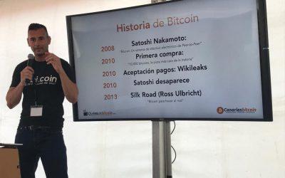 Charla sobre Bitcoin y Blockchain de Enrique Hernández Nuez