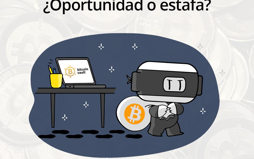 ¿Bitcoin Vault es una estafa?