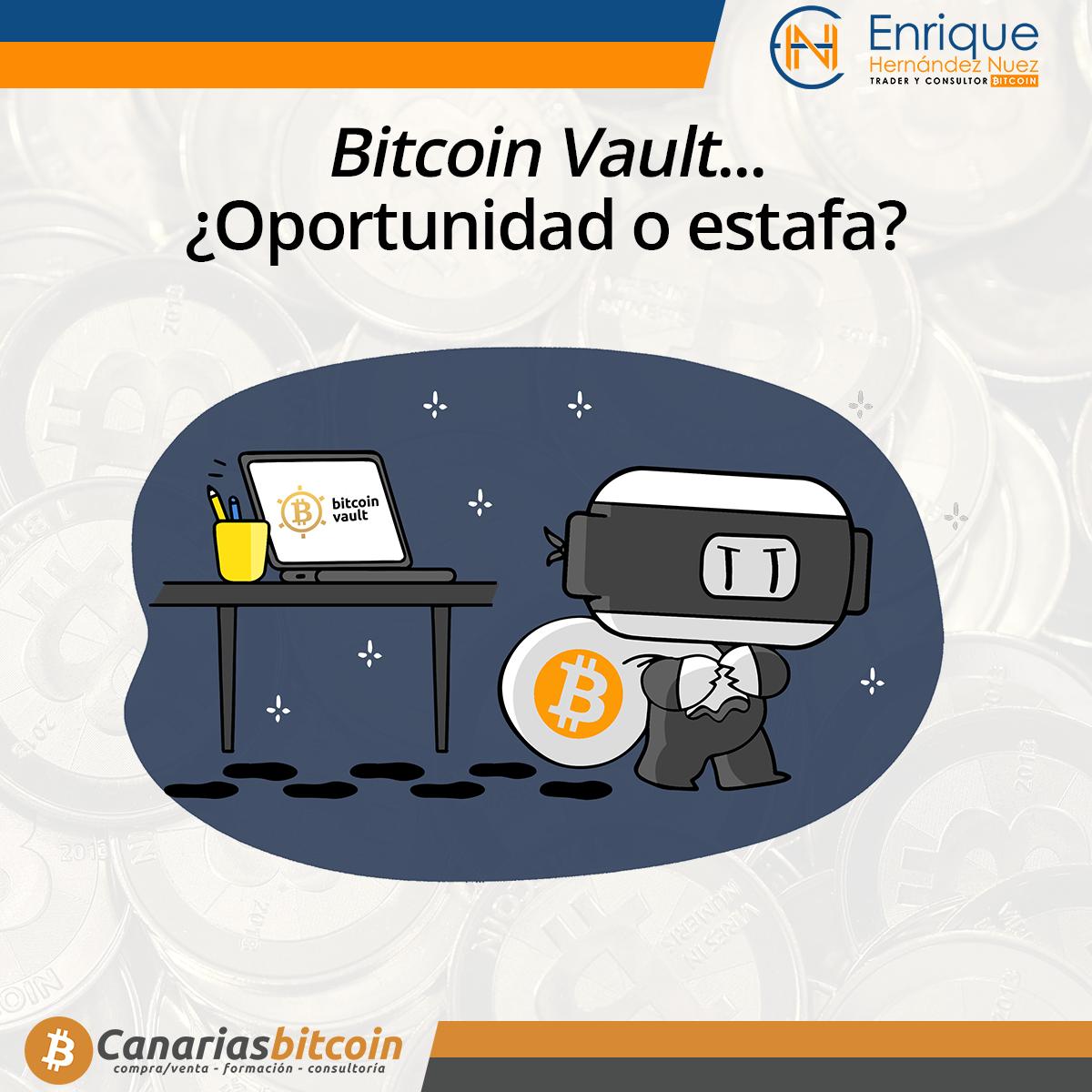 Bitcoin Vault es una estafa scam o una oportunidad
