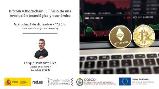 Seminario sobre Bitcoin y blockchain para el ministerio de economía y empleo