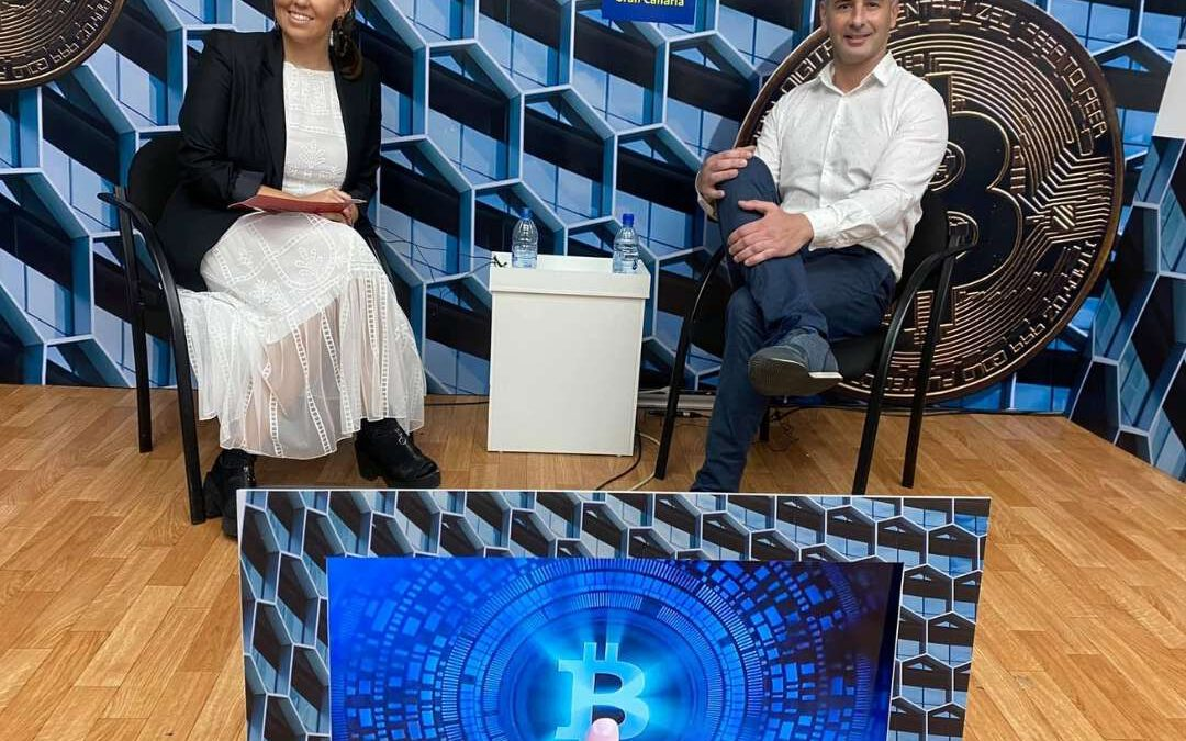 Entrevista sobre Bitcoin, inversión en Criptomonedas y Blockchain