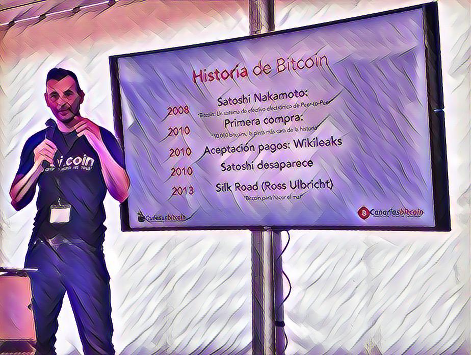 Enrique Hernández Nuez CEO en Canarias Bitcoin y Master en Blockchain