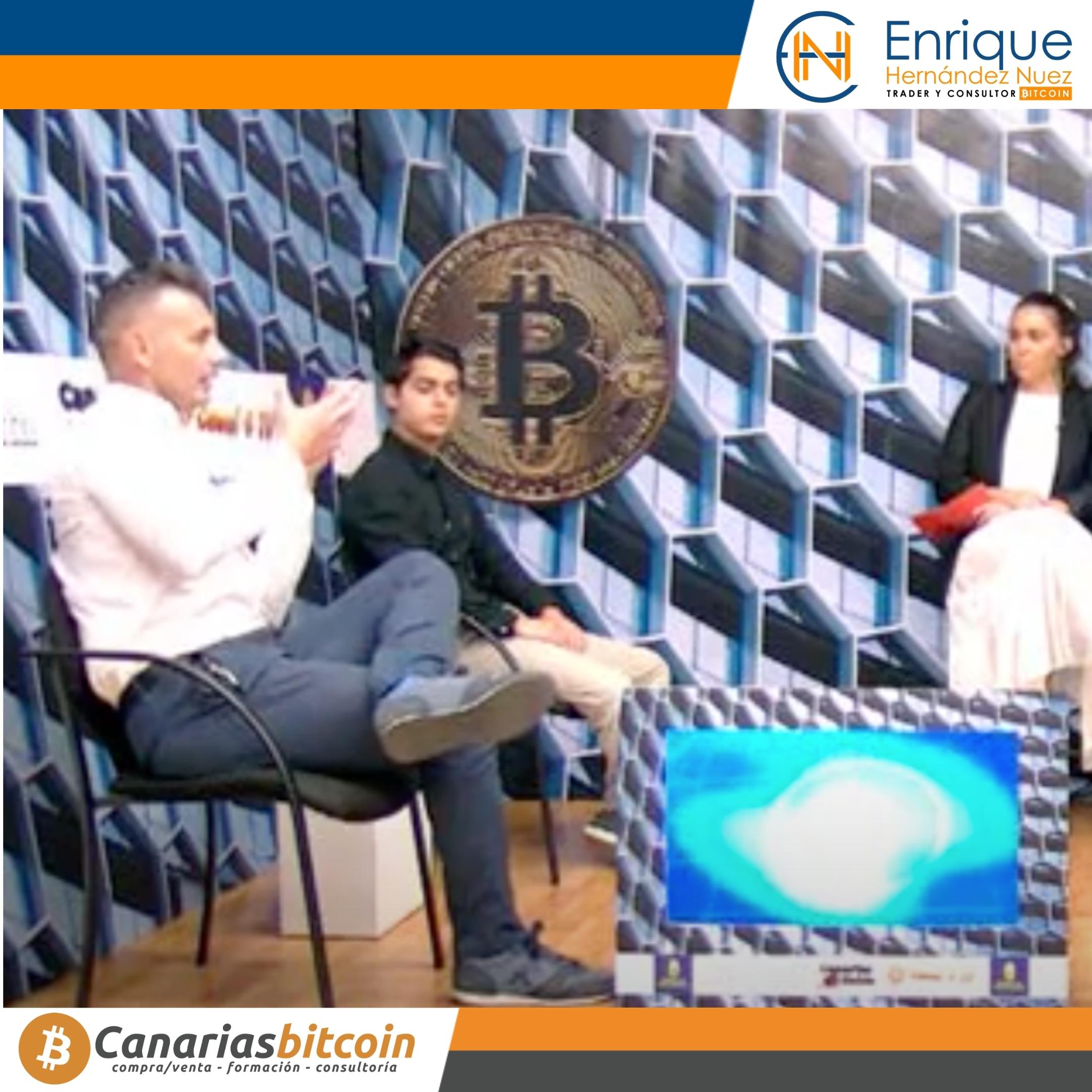 Tertulia sobre Bitcoin, blockchain y criptomonedas con Enrique Hernández Nuez